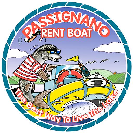 Passignano rent boat logo